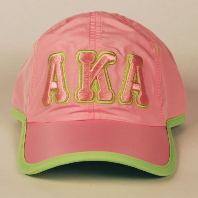 AKA-SP20-GREEK FETHERLIGHT CAP-
